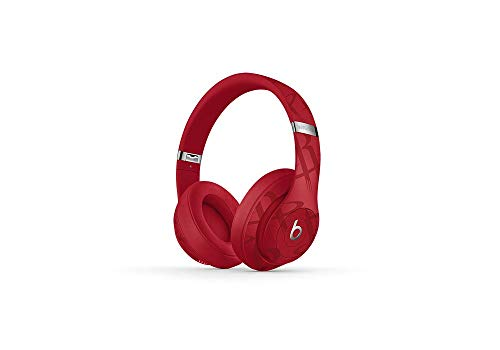 Beats Studio3 Wireless Noise Cancelling Over-Ear Headphones - NBA Collection - Rockets Red