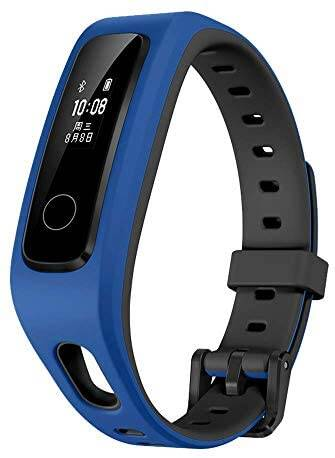 HUAWEI Wearable Technology Honor Band 4 Running Edition All-in-One Activity Tracker Smart Fitness Wristband GPS Multi-Sport Mode 5ATM Waterproof Anti-Lost (Blue)