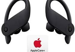 Powerbeats Pro Totally Wireless Earphones - Apple H1 Chip - Black with AppleCare+ Bundle