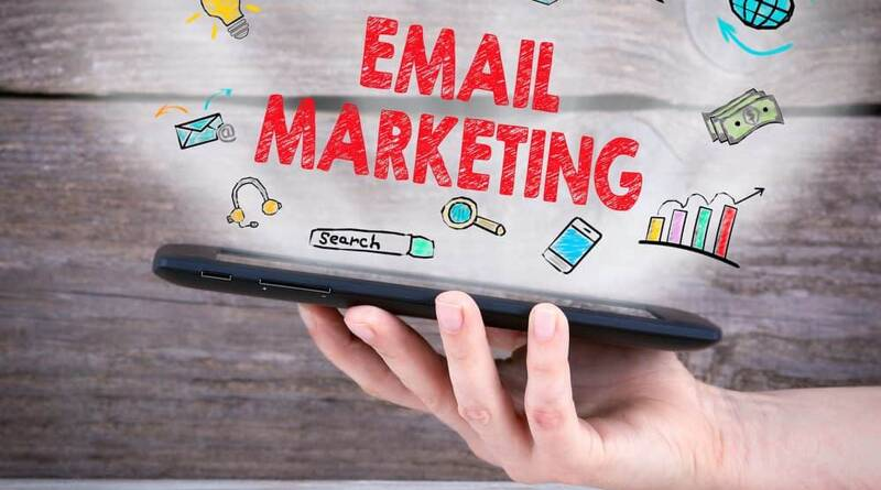 Tablet computer in the hand - Email Marketing concept - How to Succeed in Email Marketing?
